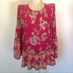 Boho style Beachlunchlounge blouse